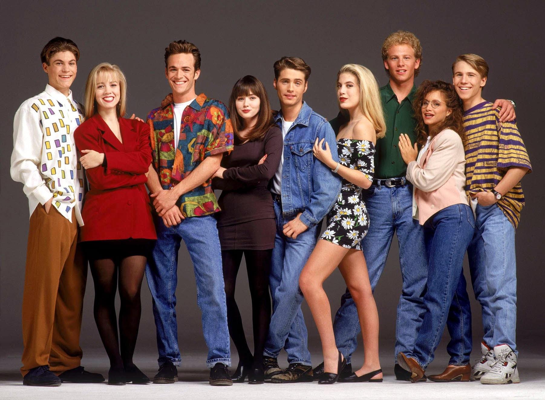 'Beverly Hills 90210': O antes e depois do elenco da série