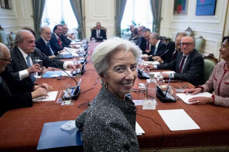"""Lagarde teve """"reunião muito boa"""" com conselheiros de Estado"""