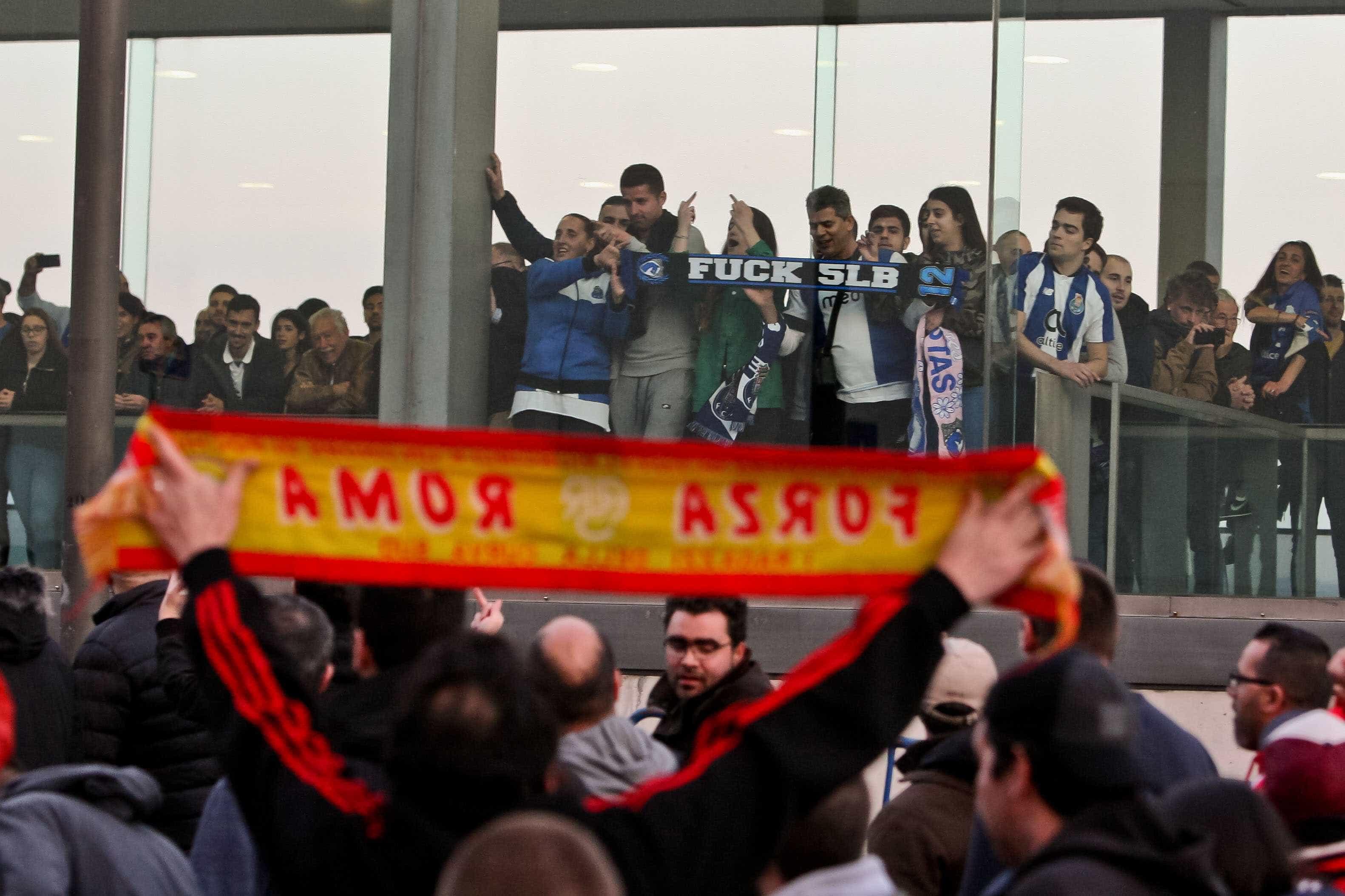 Dois detidos na operação de segurança do FC Porto-Benfica