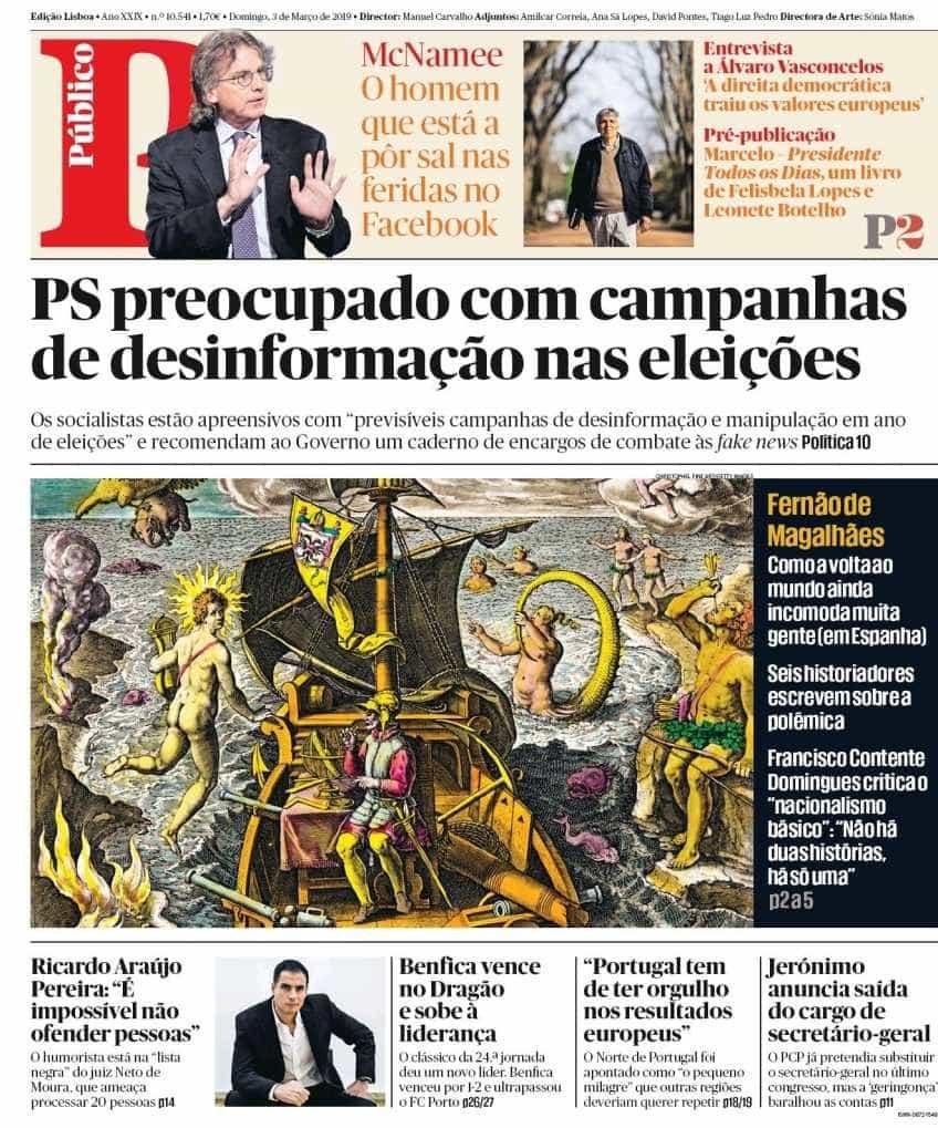 Hoje é notícia: Desinformação nas eleições; PJ investiga fogo no Porto