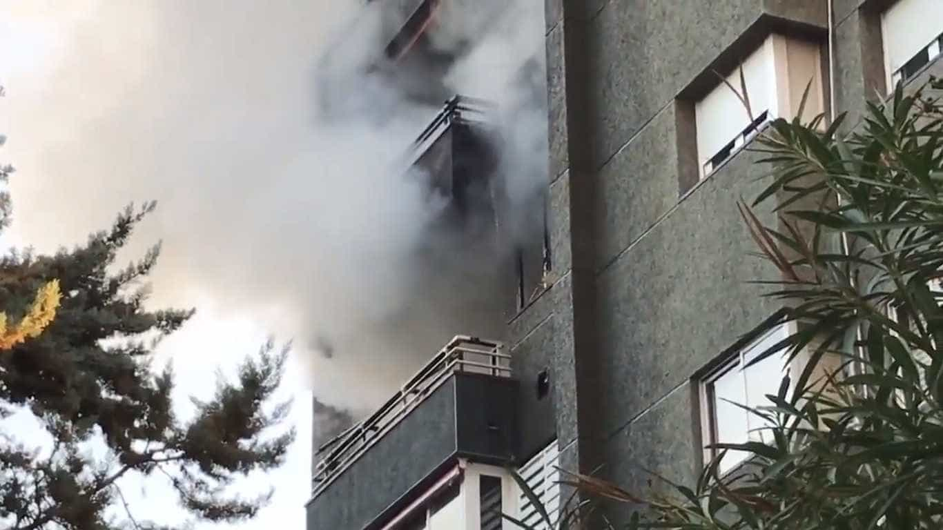 Incêndio mortal em prédio de Barcelona