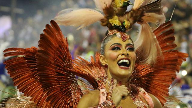 As estrelas que têm brilhado no Carnaval do Brasil (portuguesa incluída)