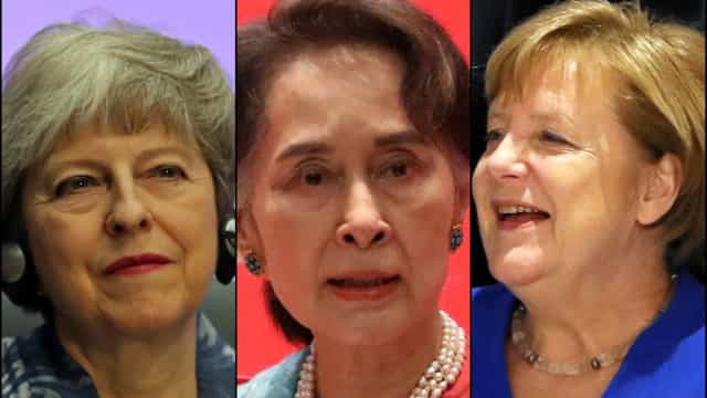As mulheres que lideram nações (e com pulso firme)