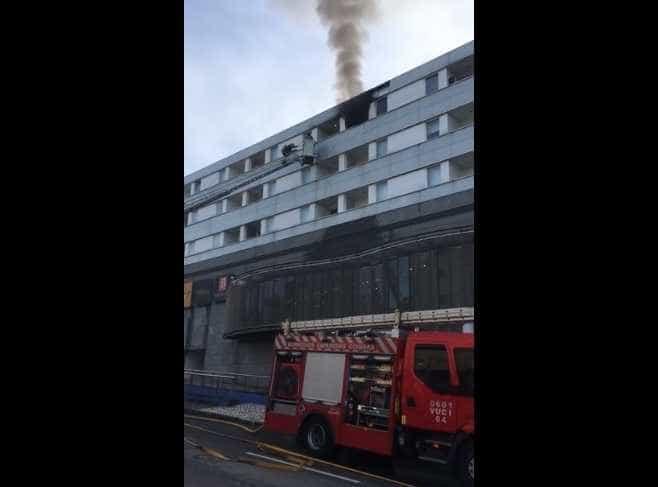 Incêndio em apartamento em Coimbra deixa uma pessoa desalojada