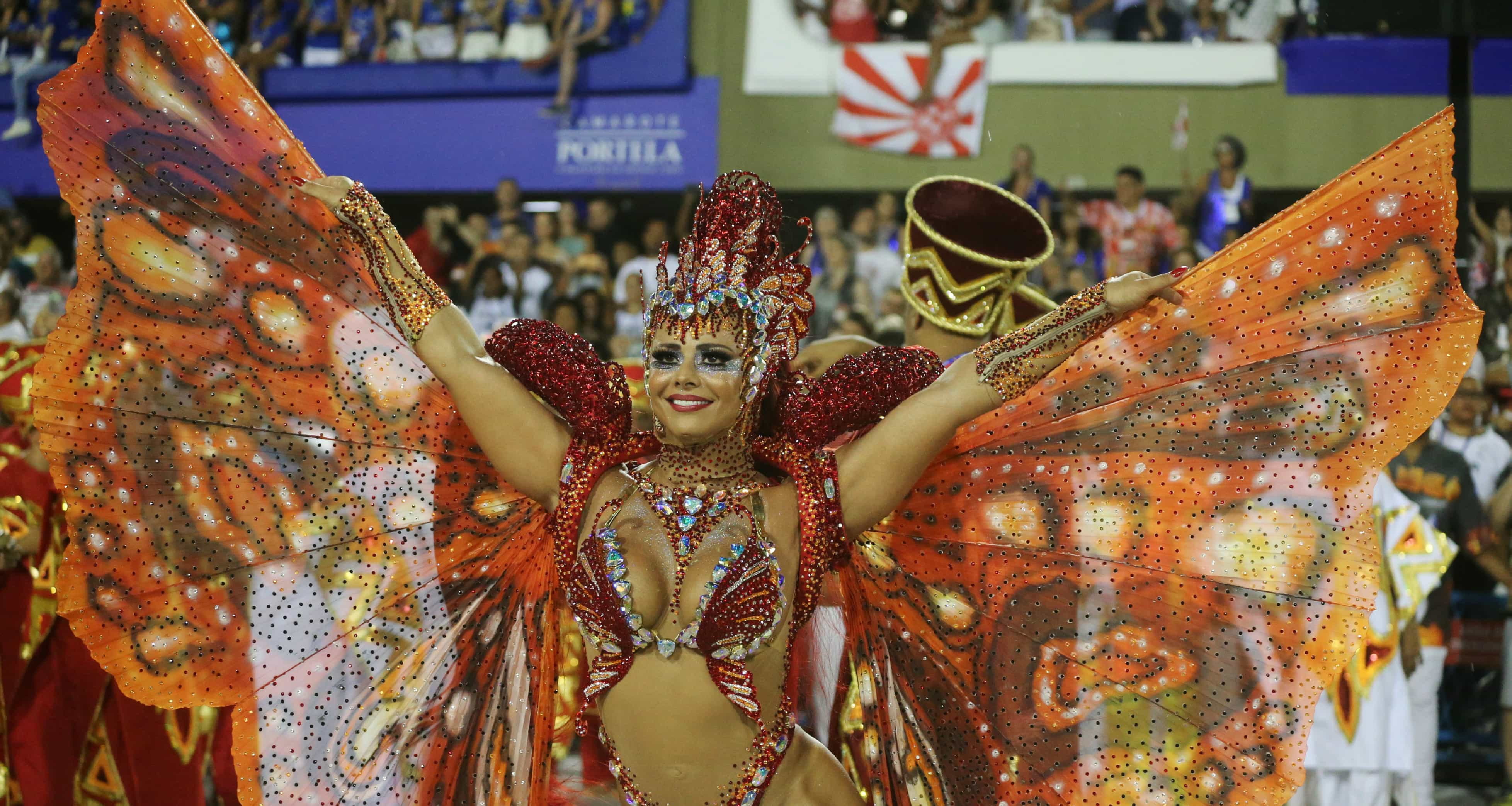 As musas do Carnaval do Brasil
