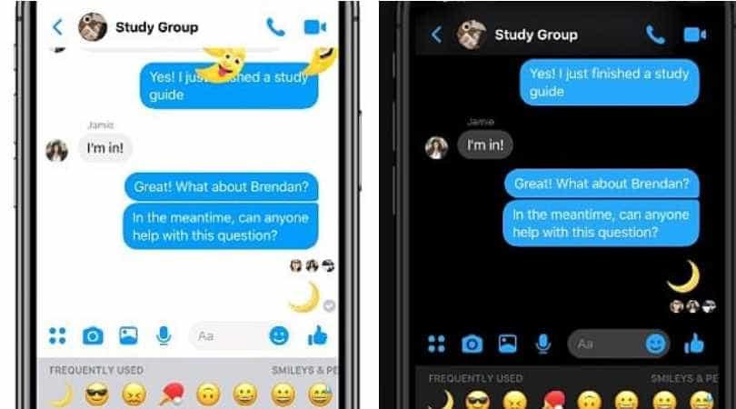 Saiba como ativar o 'Modo Escuro' da app de mensagens do Facebook