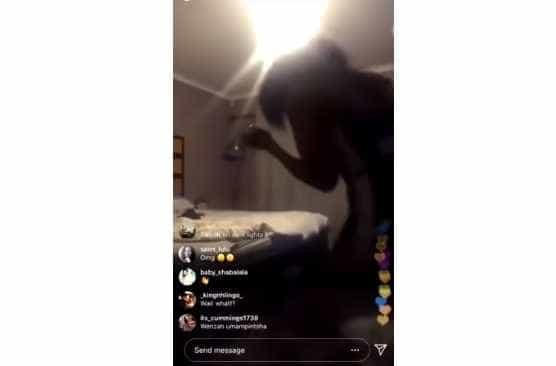 Cantora sul-africana filma acidentalmente agressão do namorado