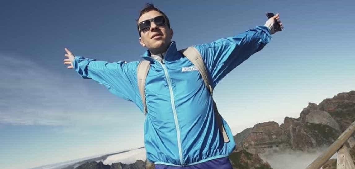 """Youtuber ficou encantado com a Madeira. """"Engarrafava-te se pudesse"""""""