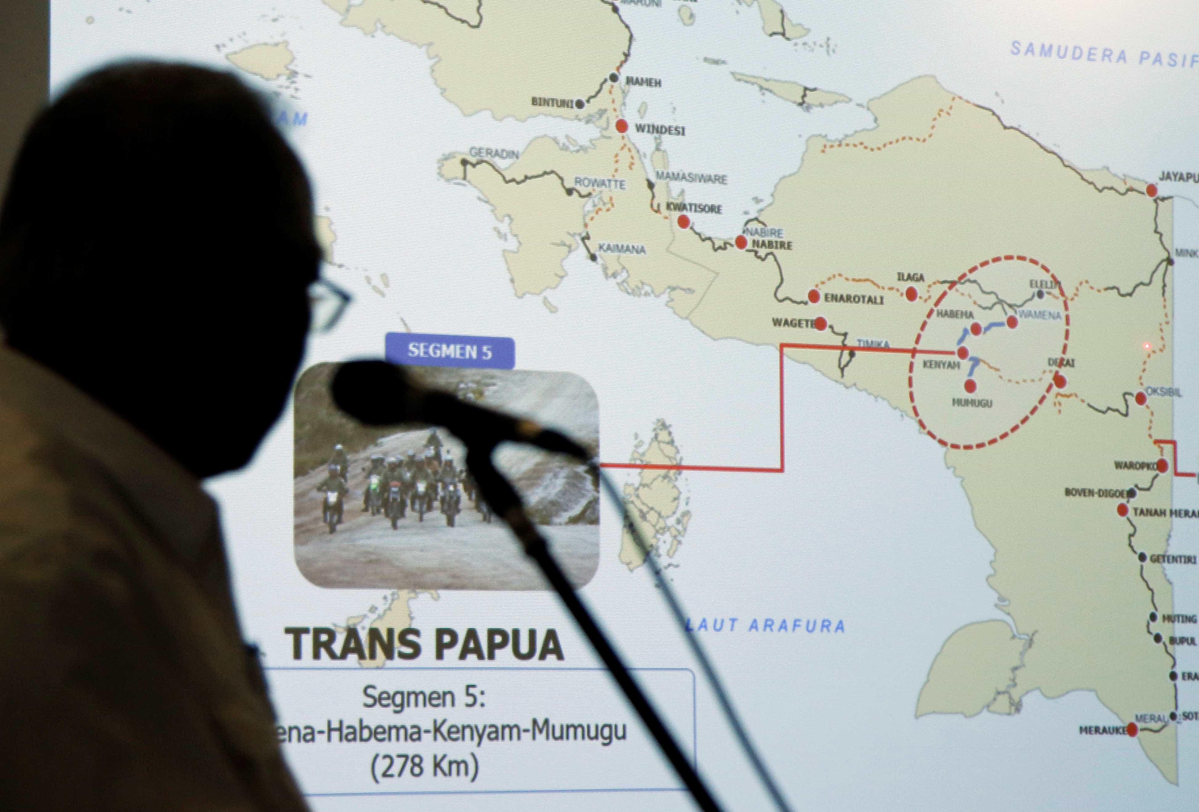 É das estradas mais mortais da Indonésia e ainda nem está a funcionar