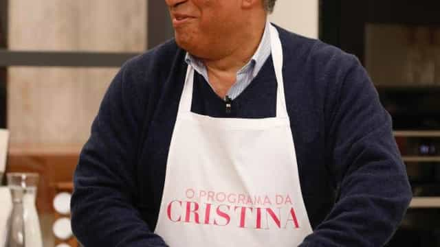 António Costa cozinha para a família no programa de Cristina Ferreira