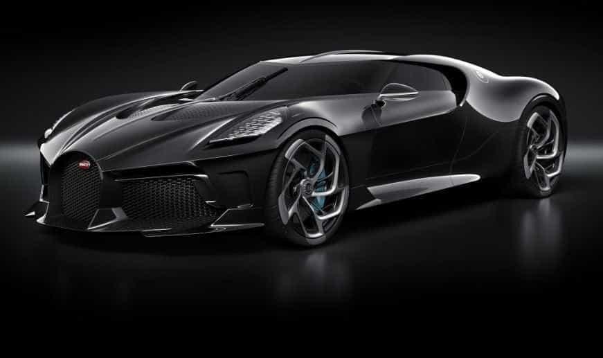 'La Voiture Noire'. Bugatti apresenta o carro mais caro de sempre