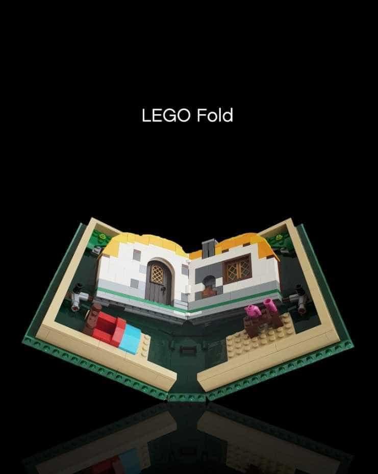 Lego parodia smartphone dobrável da Samsung