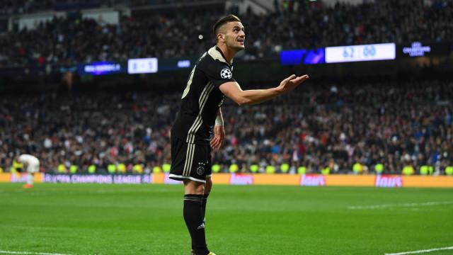 Acabou a época do Real Madrid. Campeão europeu atropelado pelo Ajax