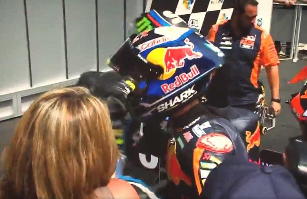 Foi assim que Miguel Oliveira foi apresentado pelo MotoGP