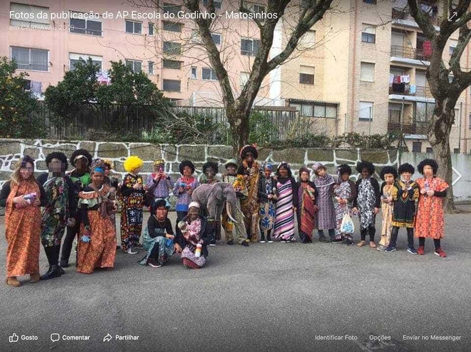 """Desfile de crianças """"fantasiadas de africanos"""" gera polémica"""
