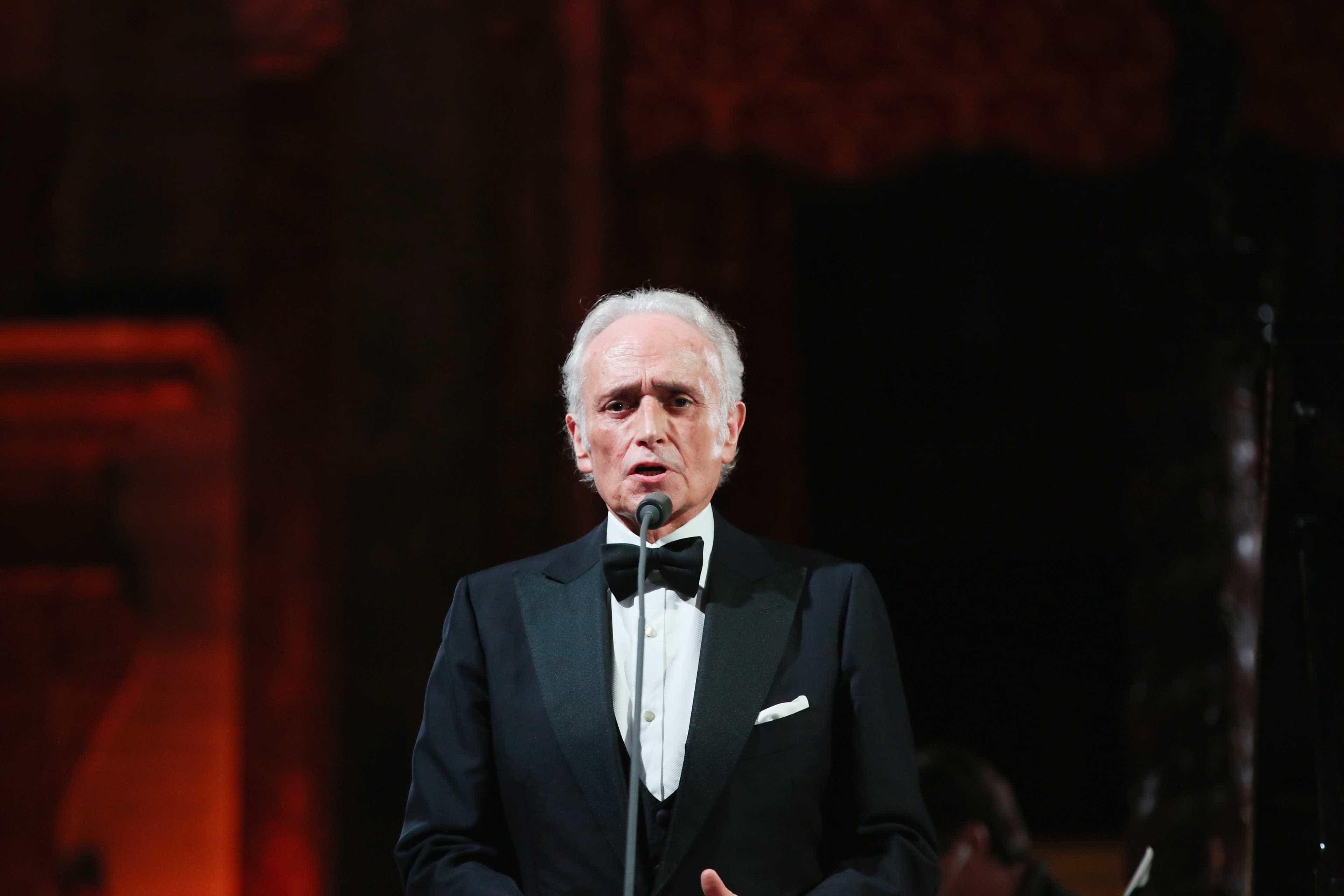 Tenor José Carreras atua em setembro em Lisboa