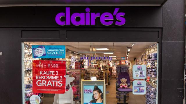 Foi encontrado amianto em três produtos de maquilhagem da Claire's