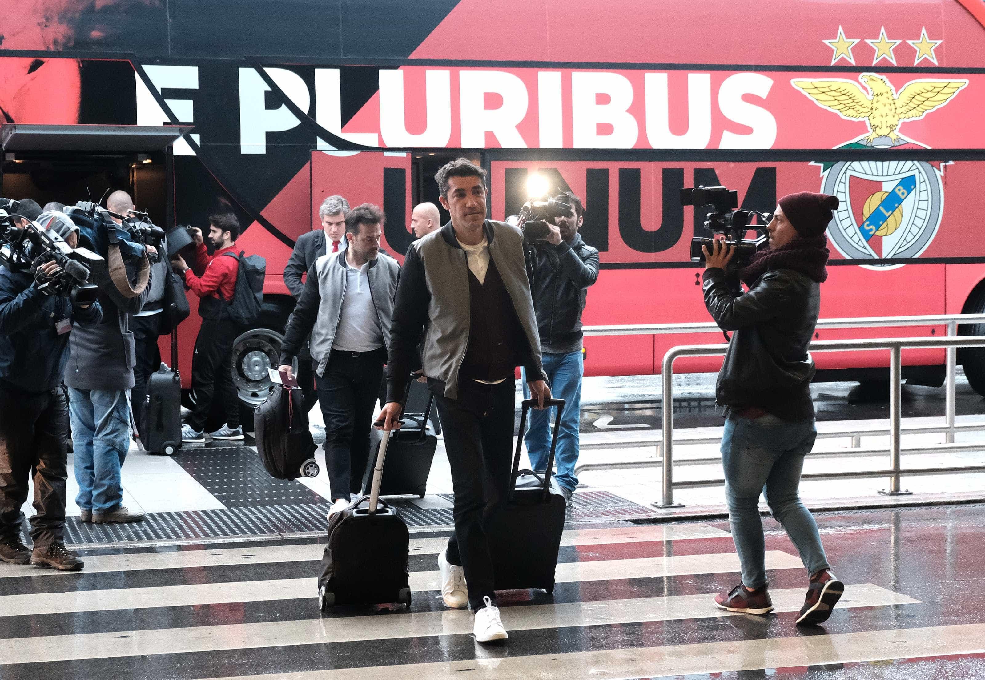 Comitiva do Benfica já está instalada em Zagreb