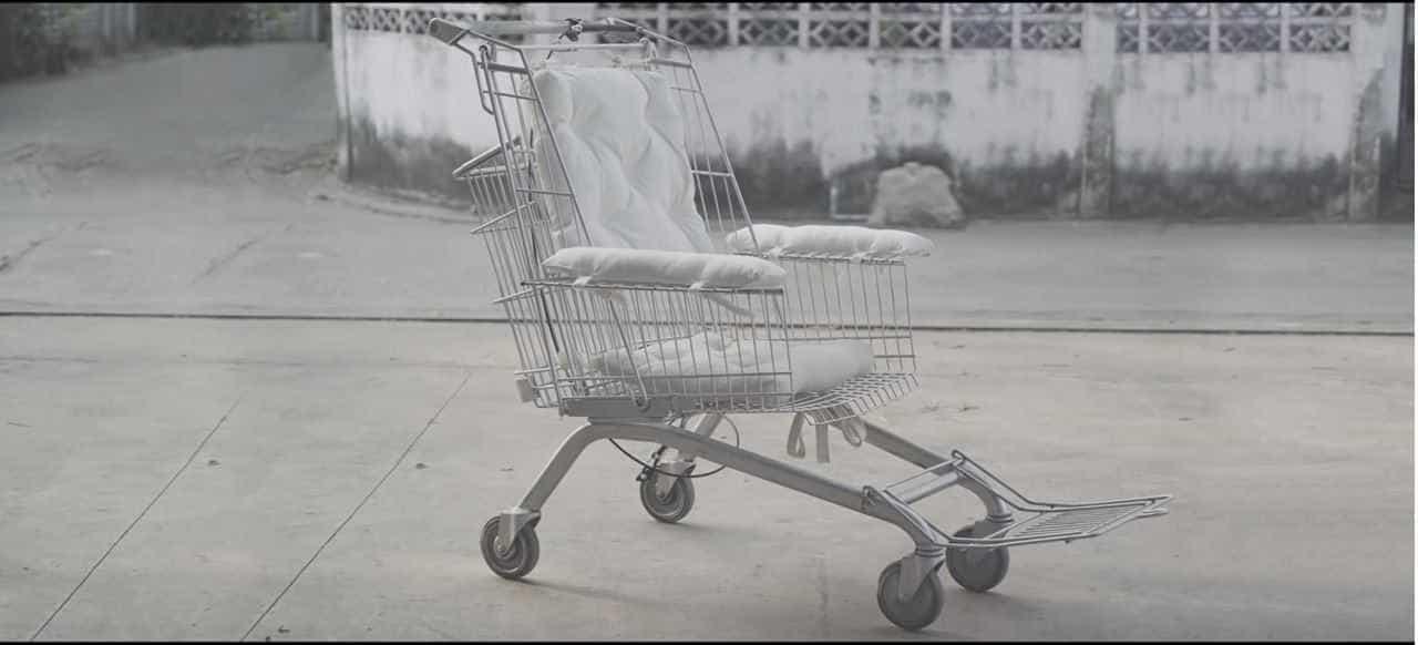 Ideia (inédita) permite reciclar carrinhos e criar cadeiras de rodas