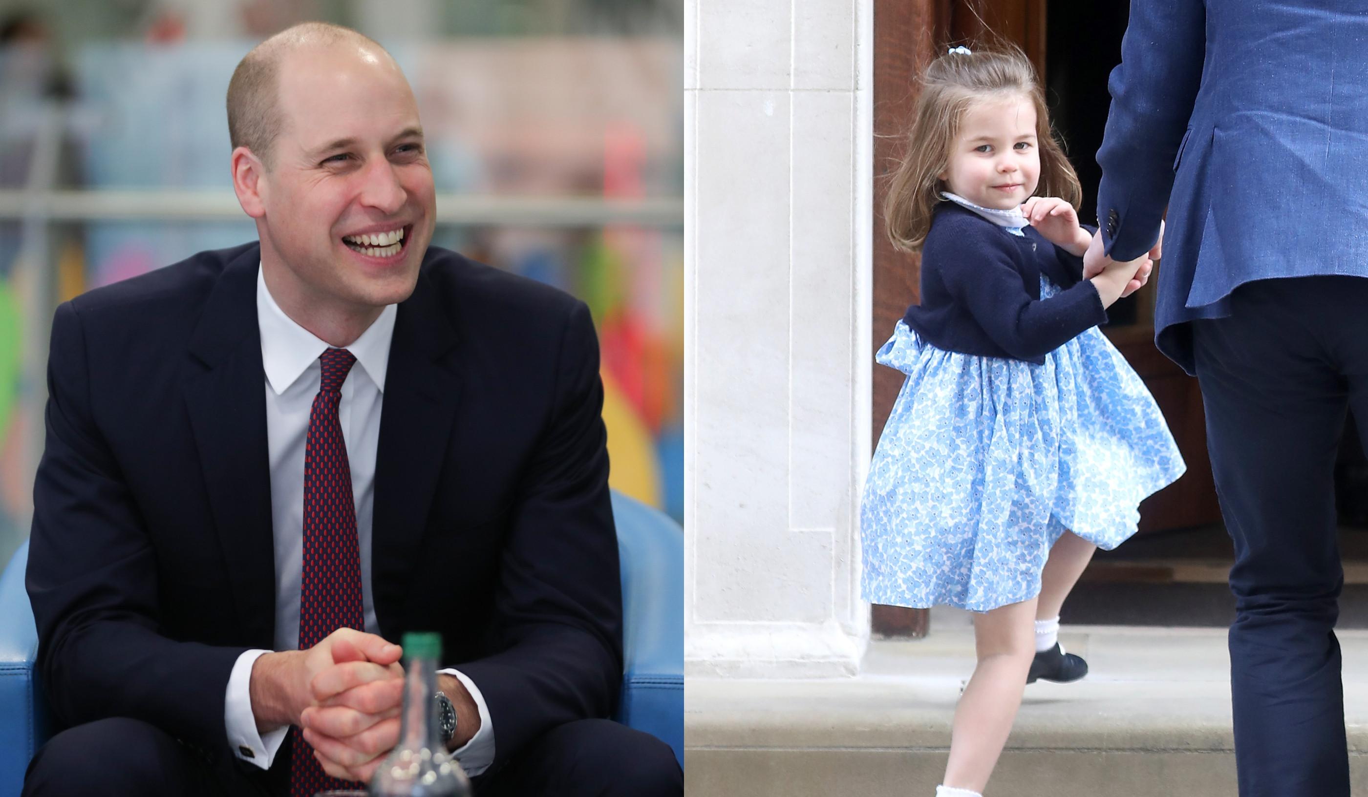 William aprendeu a fazer penteados à filha a ver vídeos no YouTube