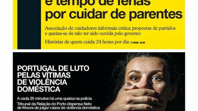 Hoje é notícia: Subsídio para quem cuida; Saca fortuna em golpes sexuais