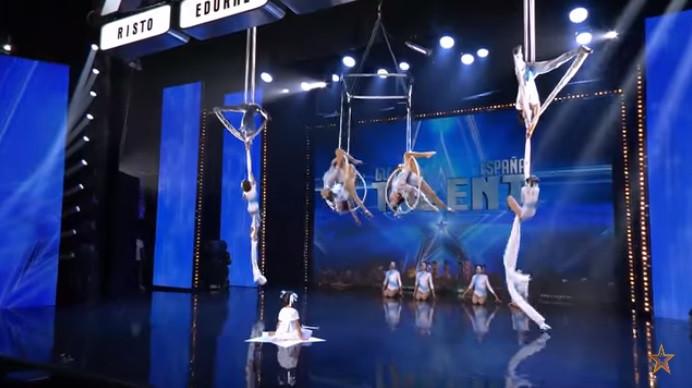 Acrobatas portugueses foram ao 'Got Talent' Espanha e encantaram júri