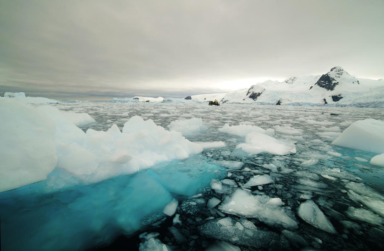 Chuva substitui neve na Gronelândia e aumenta degelo