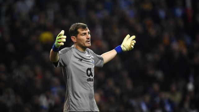 Iker Casillas continua a fazer história na Liga dos Campeões