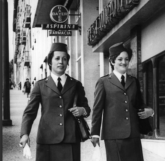 Sabe quando foi recrutada a primeira mulher para a PSP?