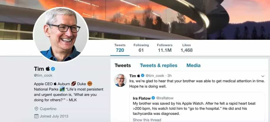 O CEO da Apple respondeu da melhor forma ao engano de Trump