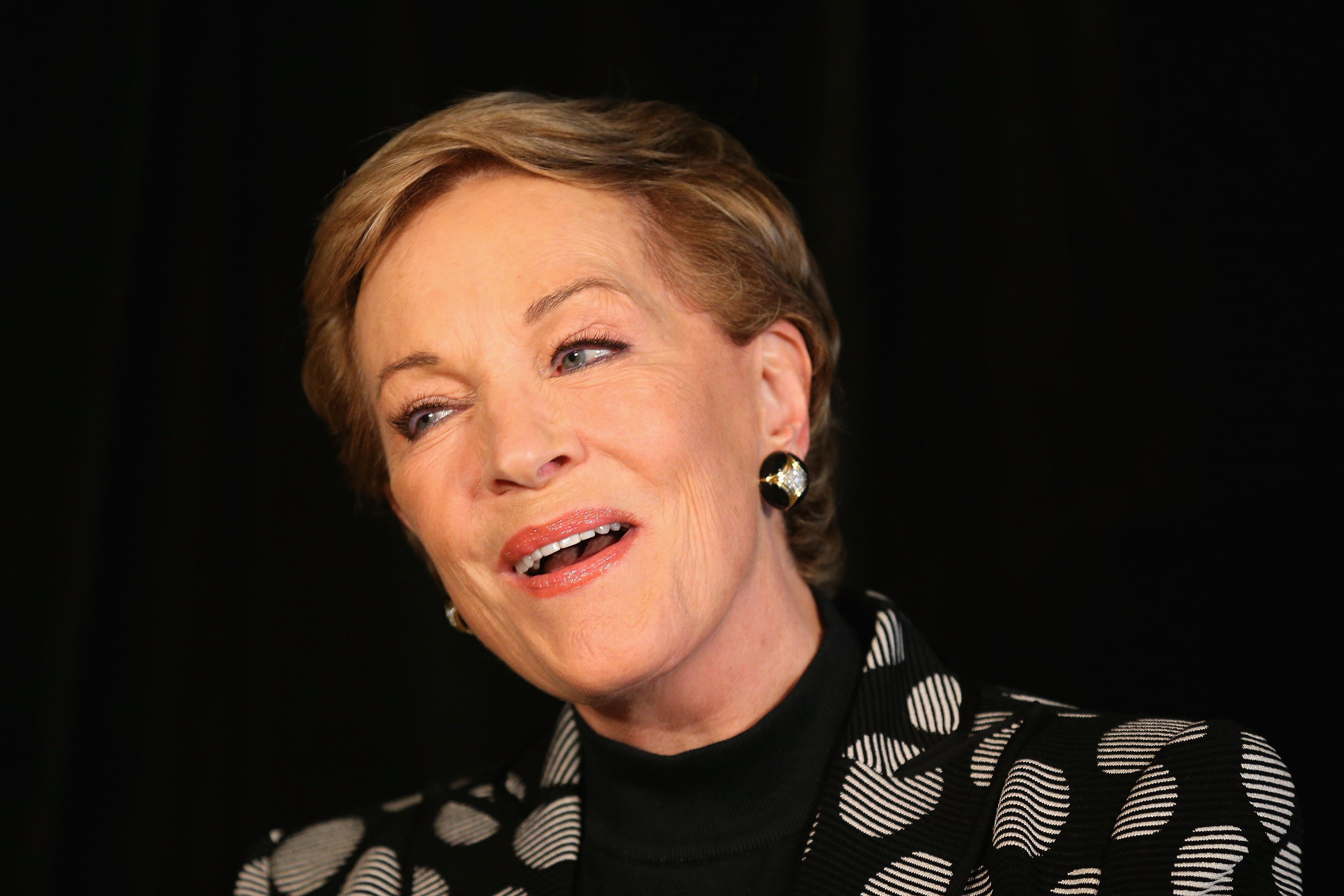 Atriz Julie Andrews homenageada no Festival de Veneza deste ano