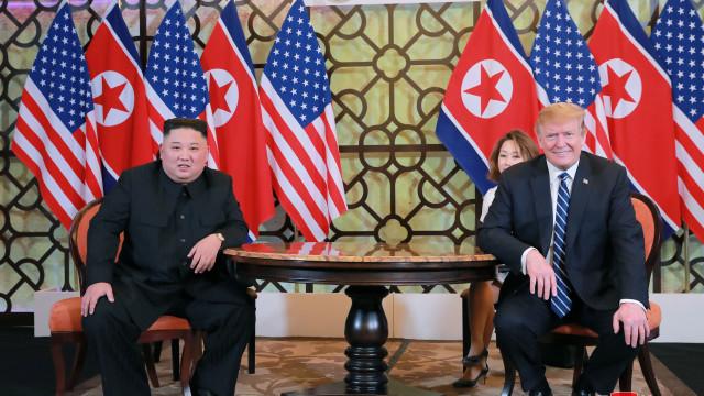Coreia do Norte reconhece pela primeira vez fracasso da cimeira Kim-Trump