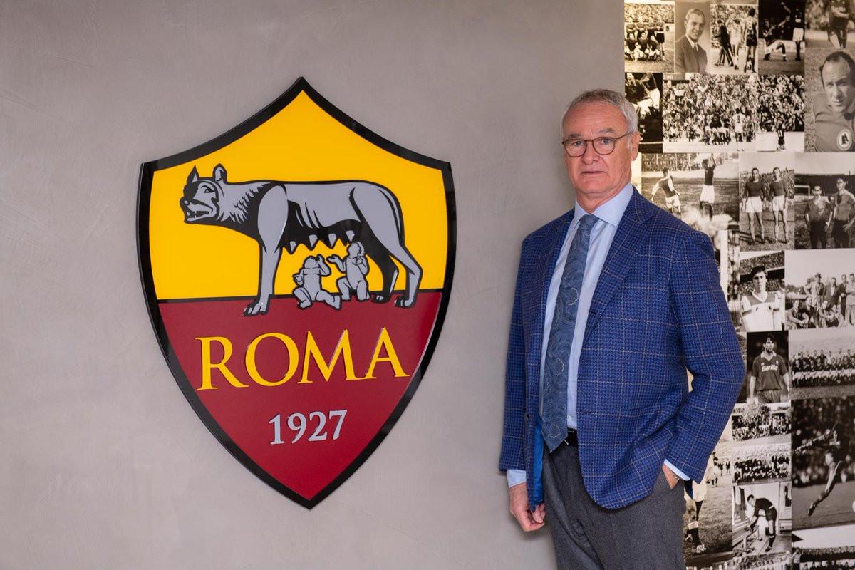 Oficial: Ranieri é o novo treinador da AS Roma