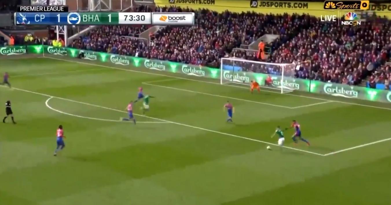 Knockaert adiantou Brighton com candidato a golo do ano em Inglaterra
