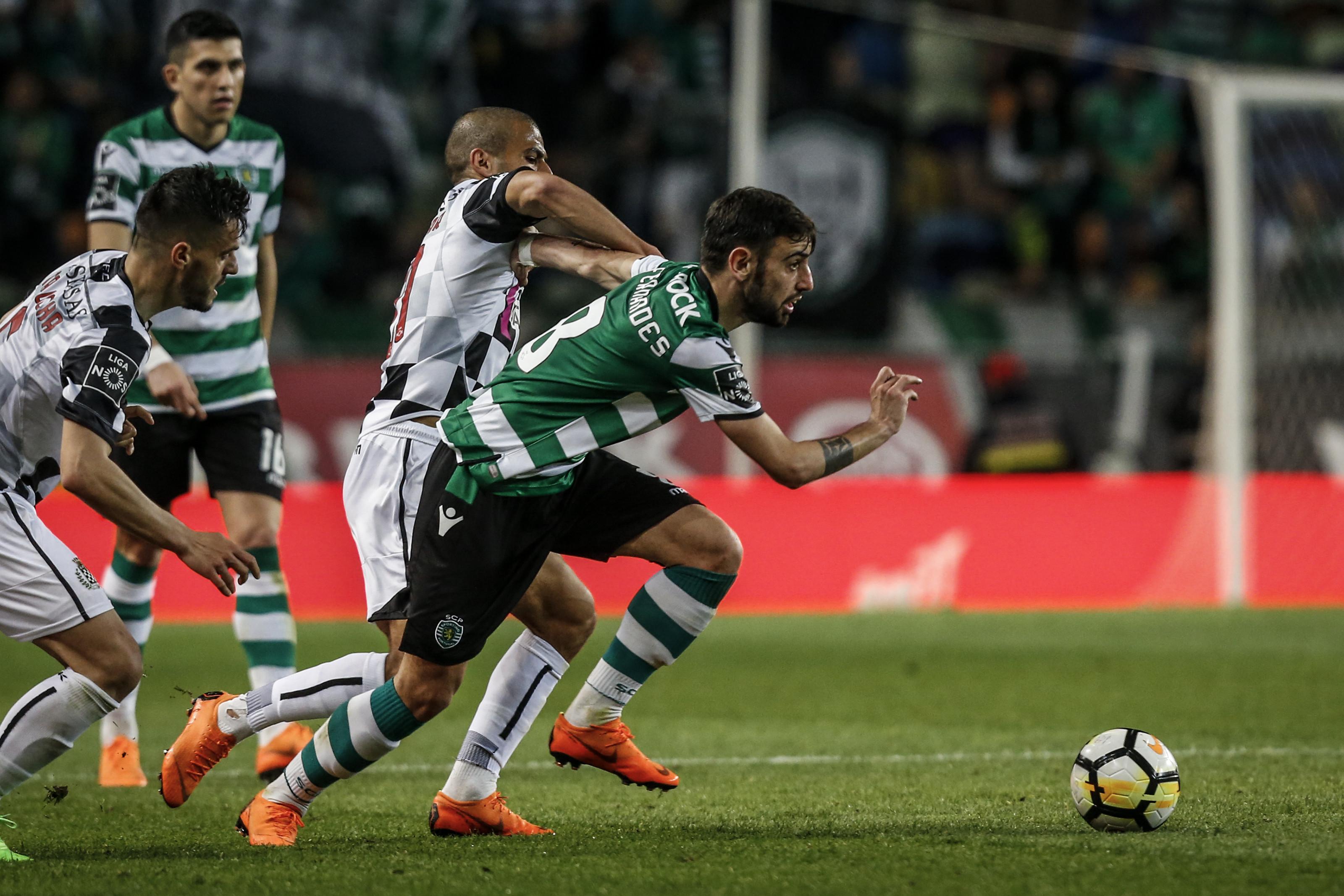 [1-1] Boavista-Sporting: Auto-golo de Edu Machado