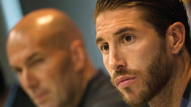 Discussão entre Sergio Ramos e Zidane terá motivado saída do técnico