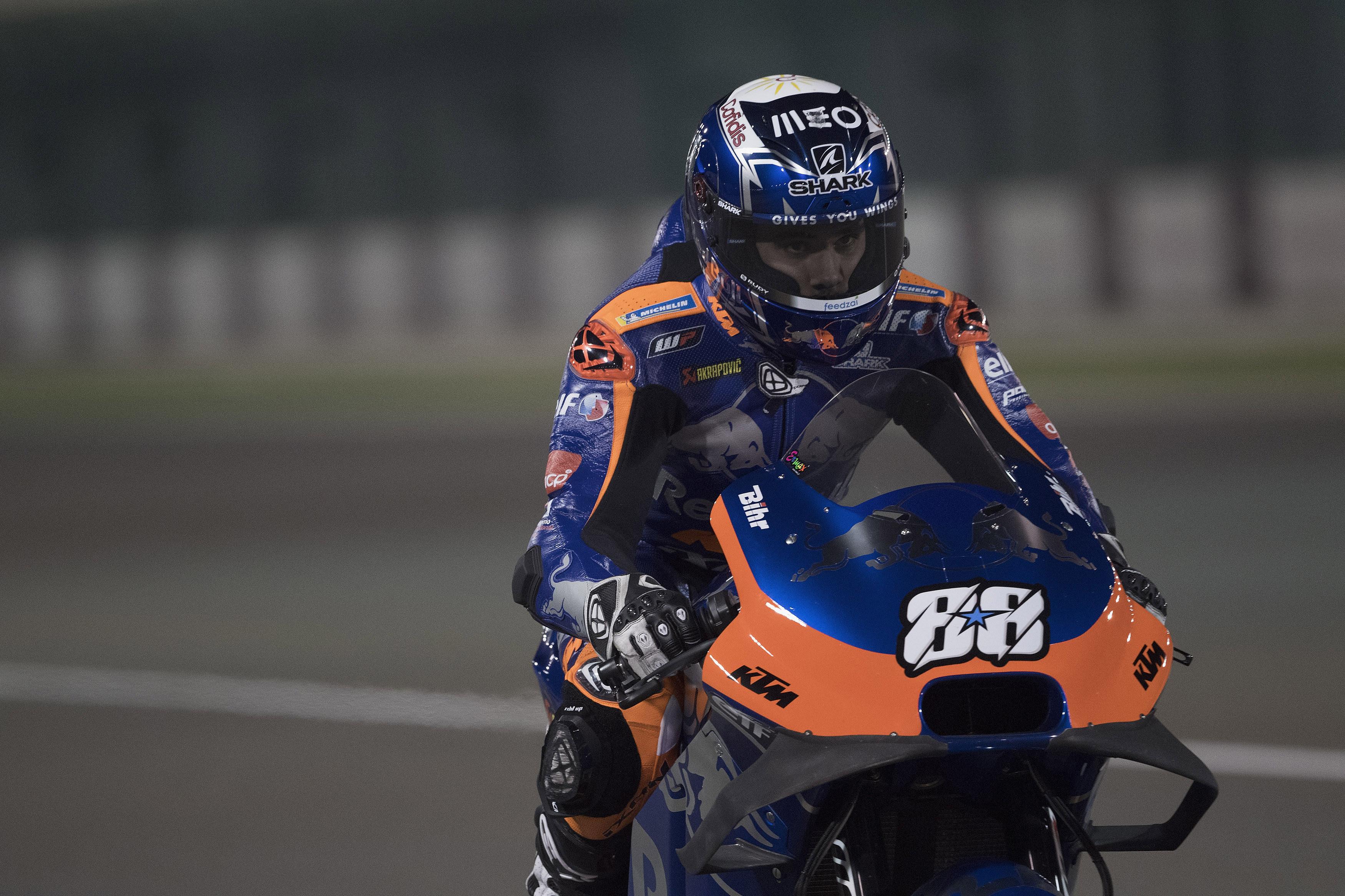 Miguel Oliveira parte do 17.º lugar no GP do Qatar