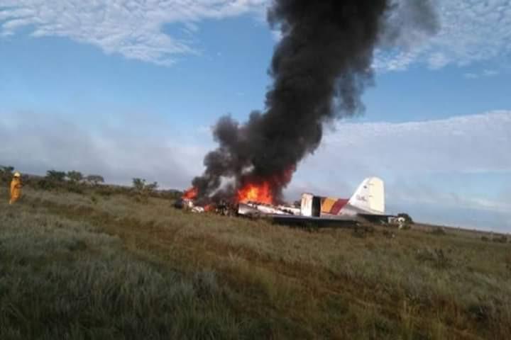 Avião caiu na Colômbia. Há registo de 14 mortos