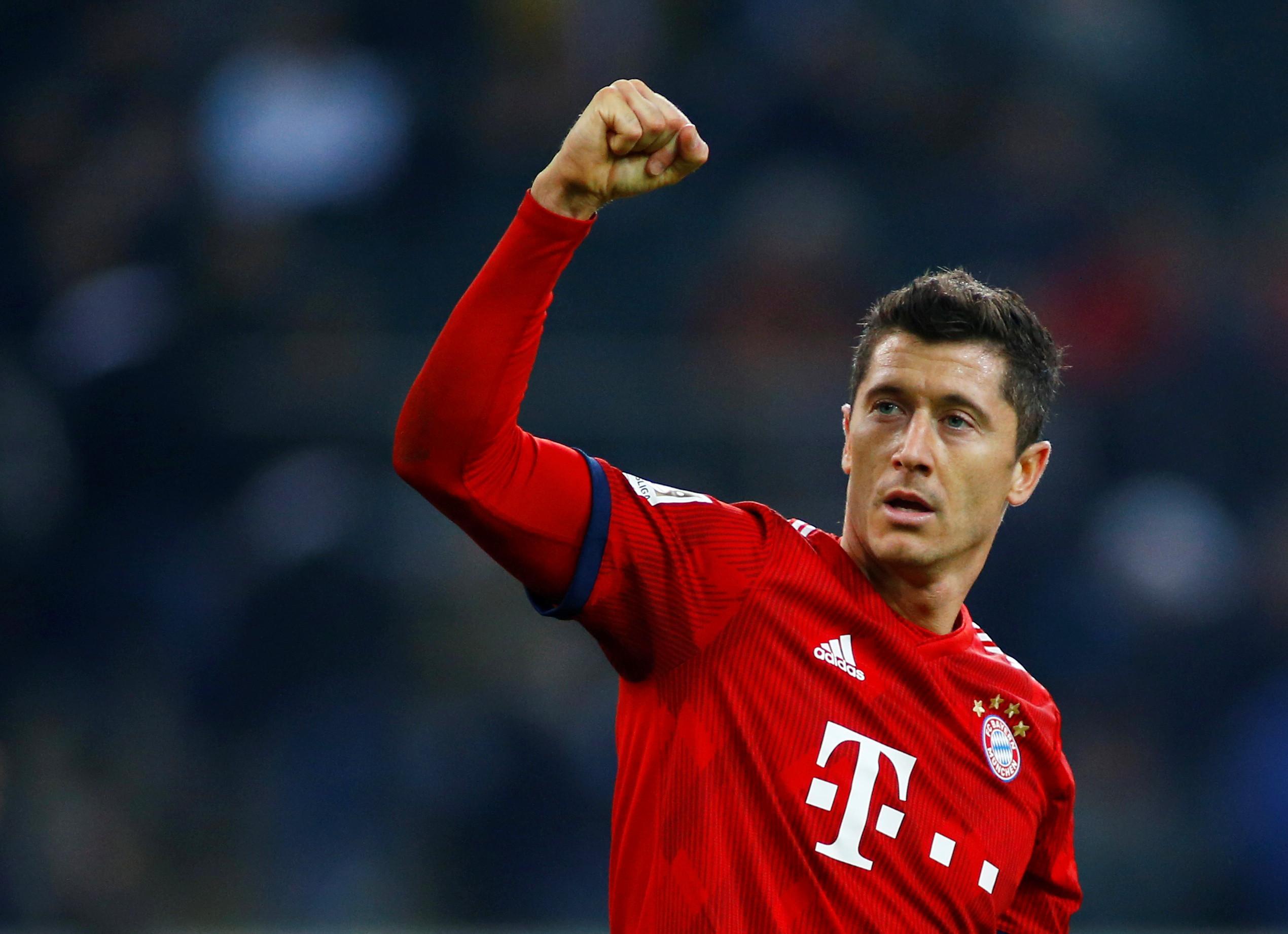 Lewandowski entrou para a história da Bundesliga