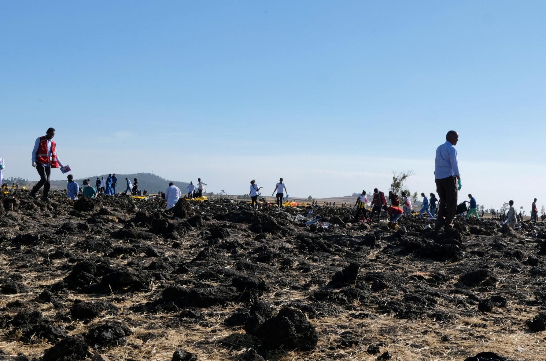 Caixas negras do avião que caiu na Etiópia serão enviadas para a Europa