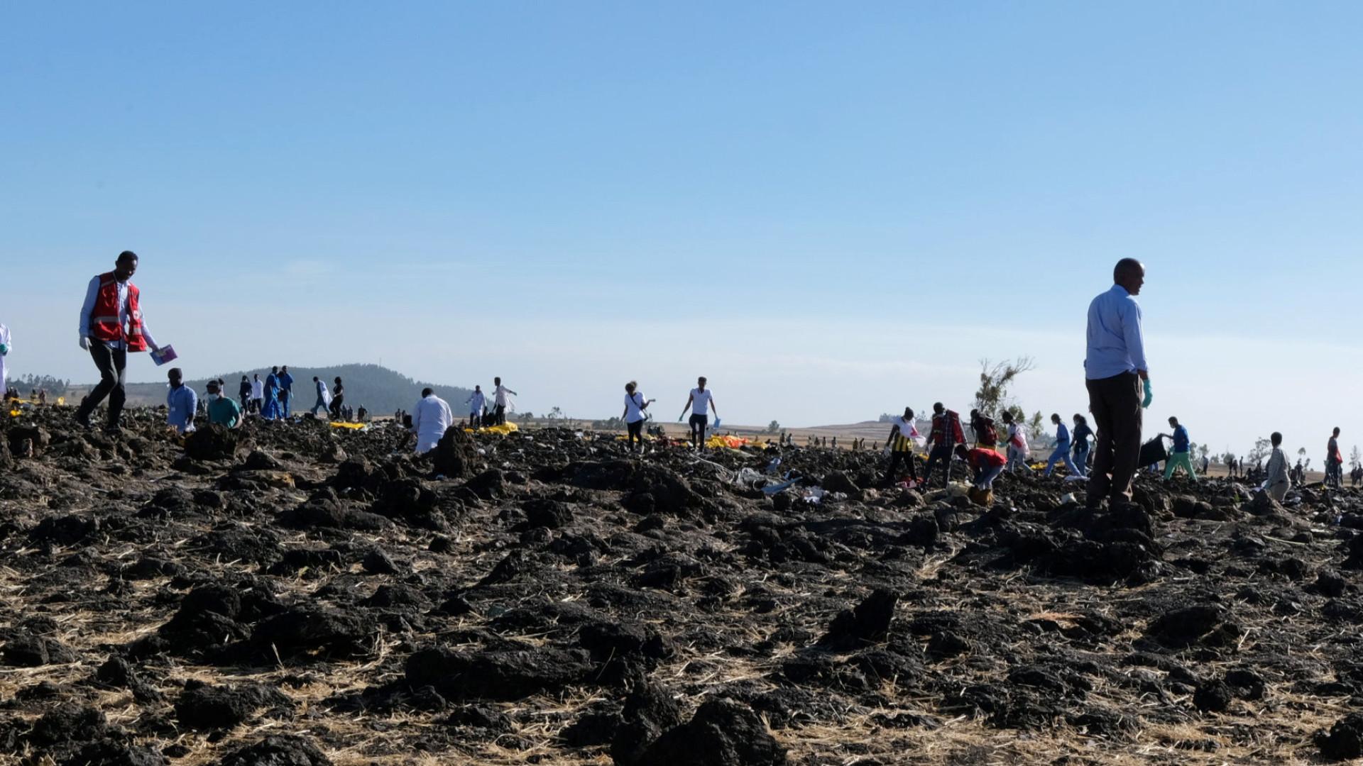 Viúva processa Boeing em quase 250 milhões por queda de avião na Etiópia
