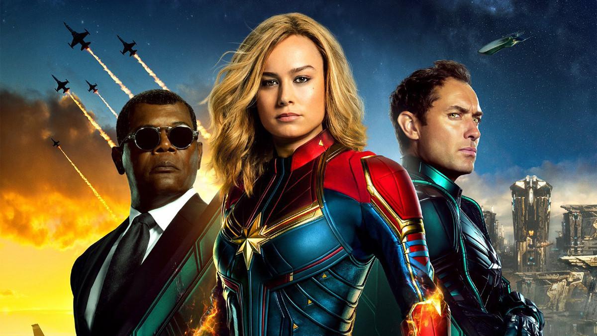 'Captain Marvel' é a melhor estreia de sempre de uma super-heroína
