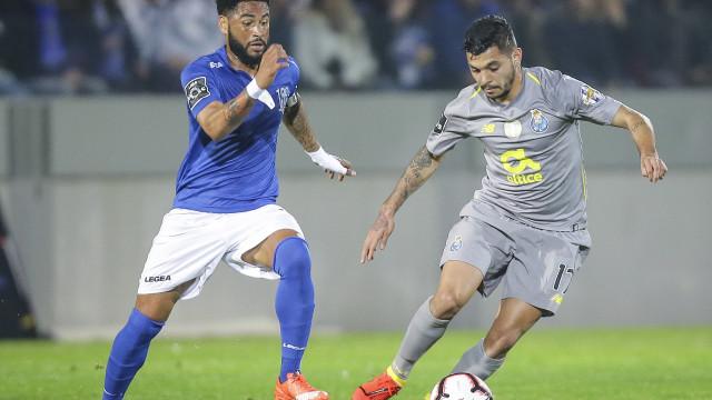 [1-2] Feirense-FC Porto: Tempo de intervalo na Feira