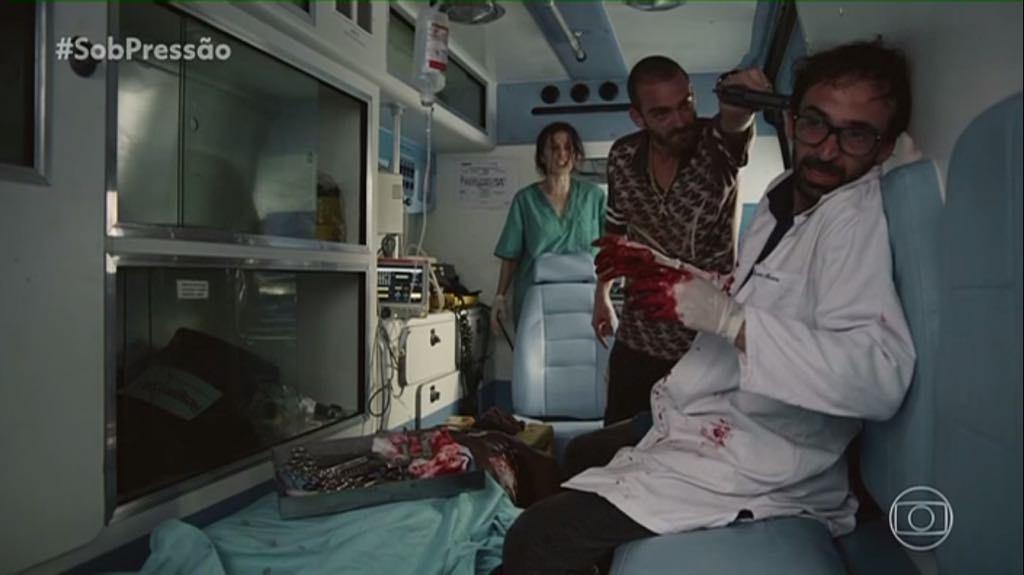 Já estreou a segunda temporada da série brasileira 'Sob Pressão'