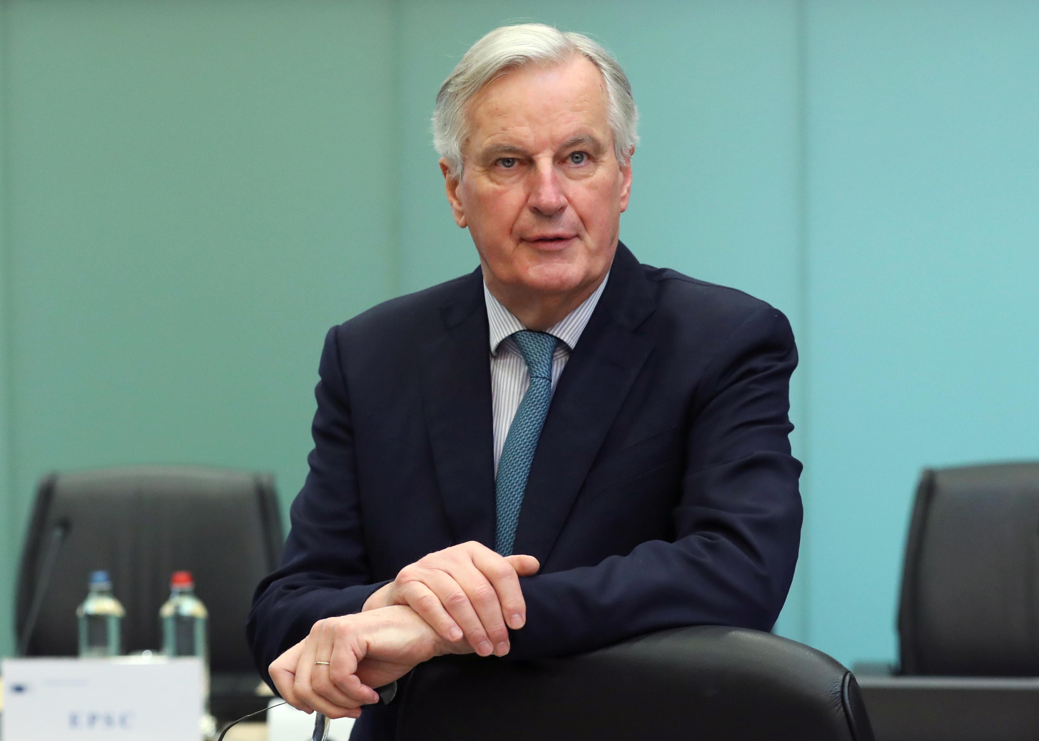 Negociações do Brexit deslocaram-se para Londres, diz Barnier