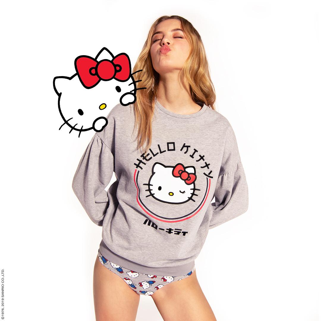 Tezenis celebra 45.º aniversário da Hello Kitty com coleção irreverente