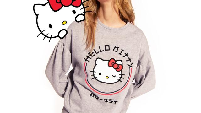 Tezenis celebra 45º aniversário da Hello Kitty com coleção irreverente