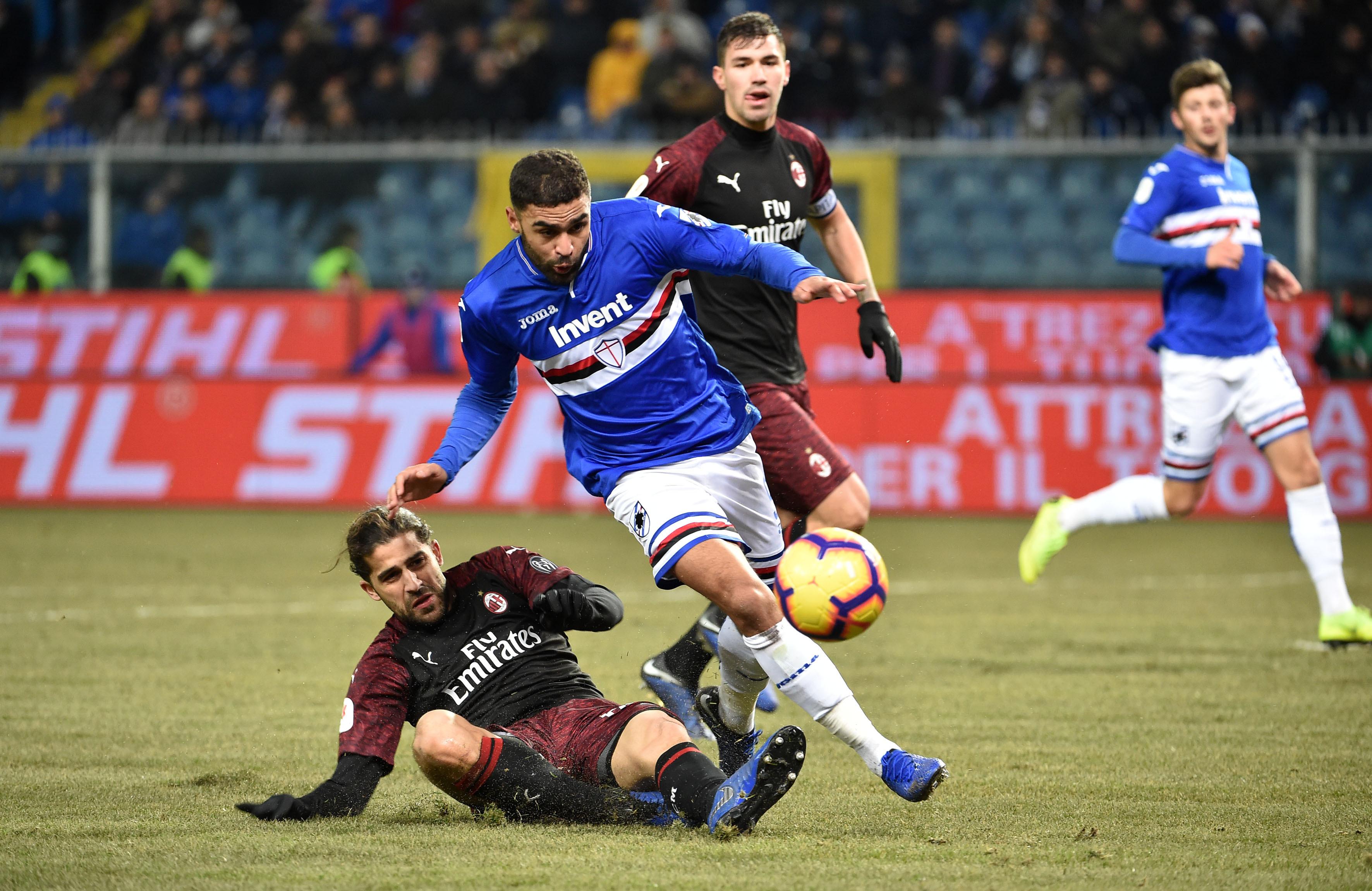 Jogador da Sampdoria conduziu bêbedo, fugiu à polícia e... despistou-se