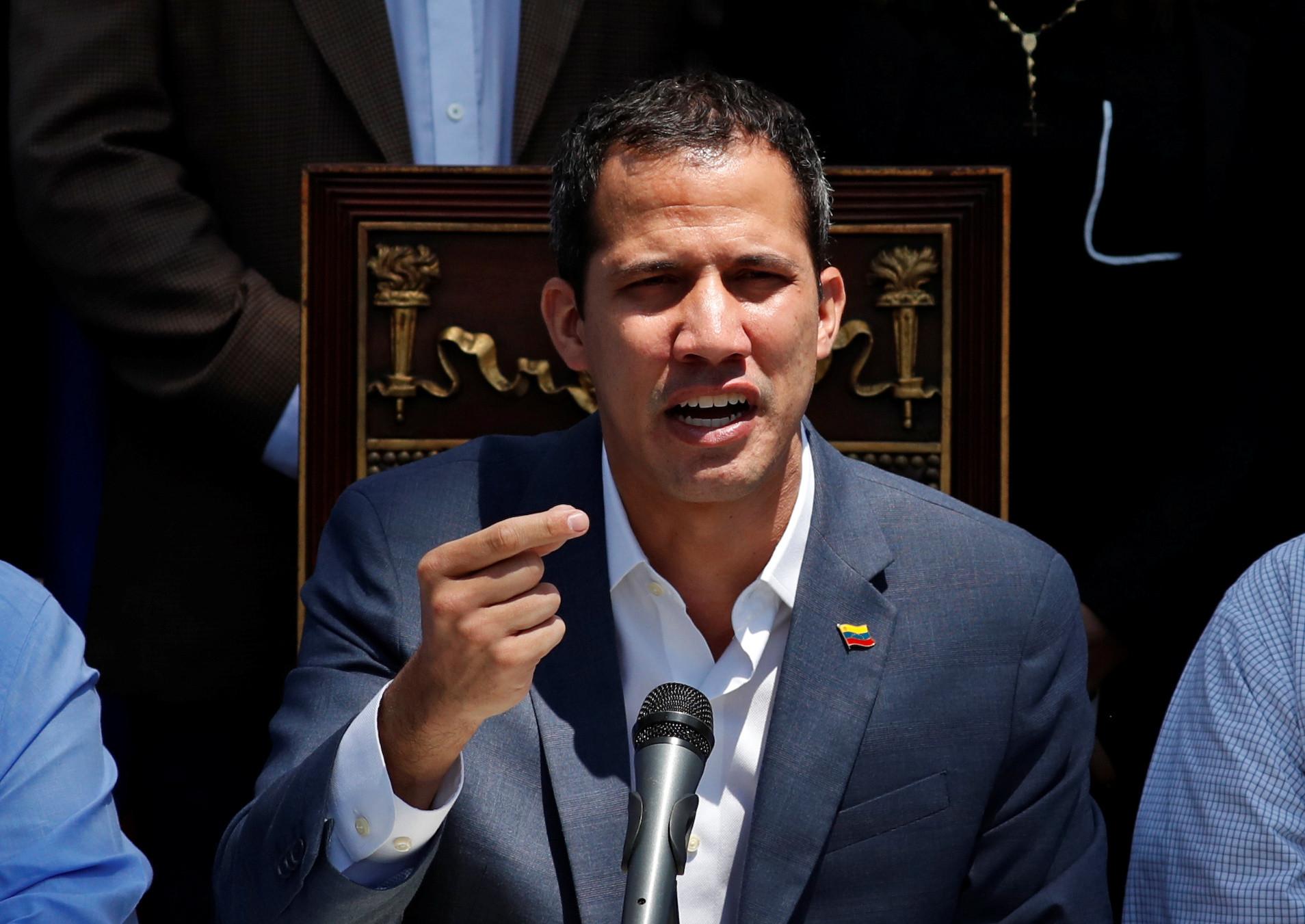 """Guaidó acusa Maduro de """"terrorismo de Estado"""" contra oposição venezuelana"""