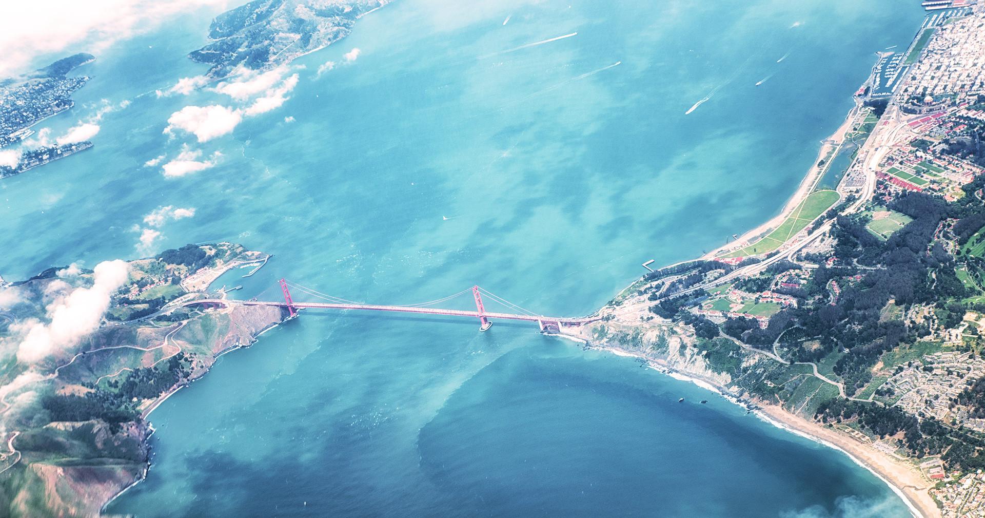 Ligar São Francisco a Lisboa...